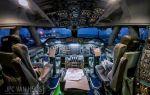 Пилот делает потрясающие фото неба из кабины самолёта