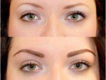 Оформление бровей: выбор формы, удаление лишних волосков и окрашивание